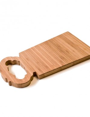 tabla de corte de bambú