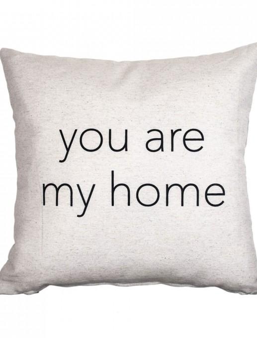 """Funda de cojín """"you are my home"""""""
