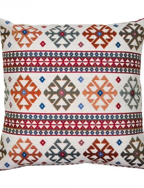 ETHNIC PILLOWCASE BLUE