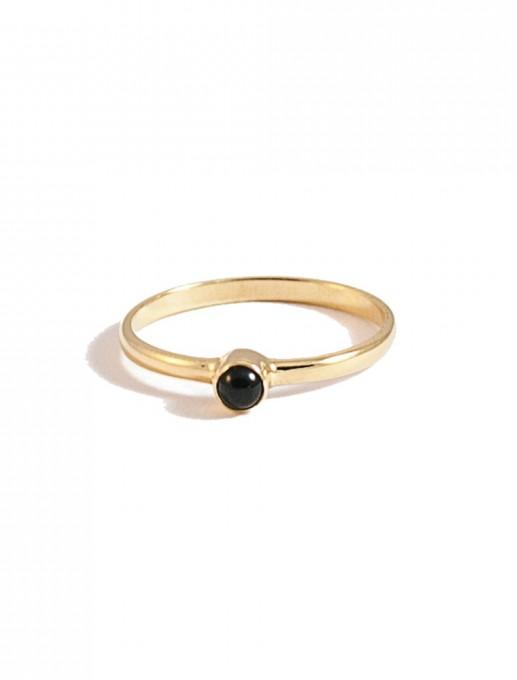 anillo punto negro