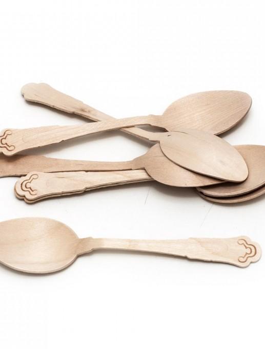 cucharas de madera (10 unidades)
