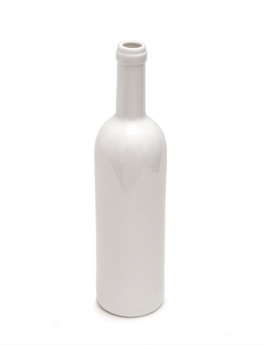 botella de vino de porcelana