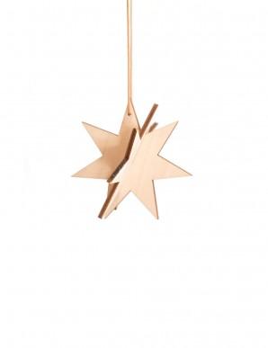 Estrella de madera pequeña