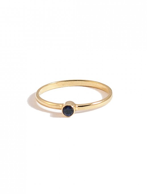 anillo punto azul