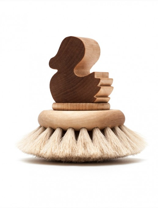 cepillo baño infantil pato