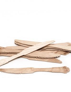 Pack cuchillos de madera