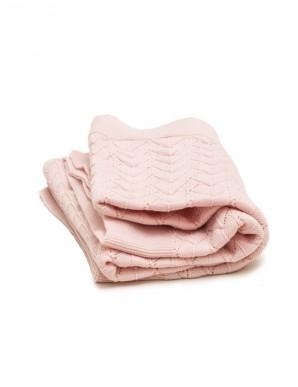 manta infantil rosa
