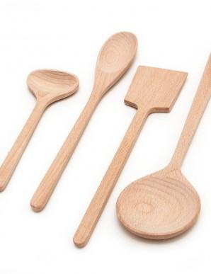 cuchara de madera grande