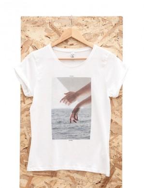 """Camiseta """"en mis manos - agua"""""""