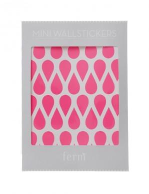 vinilos gotas rosa neon