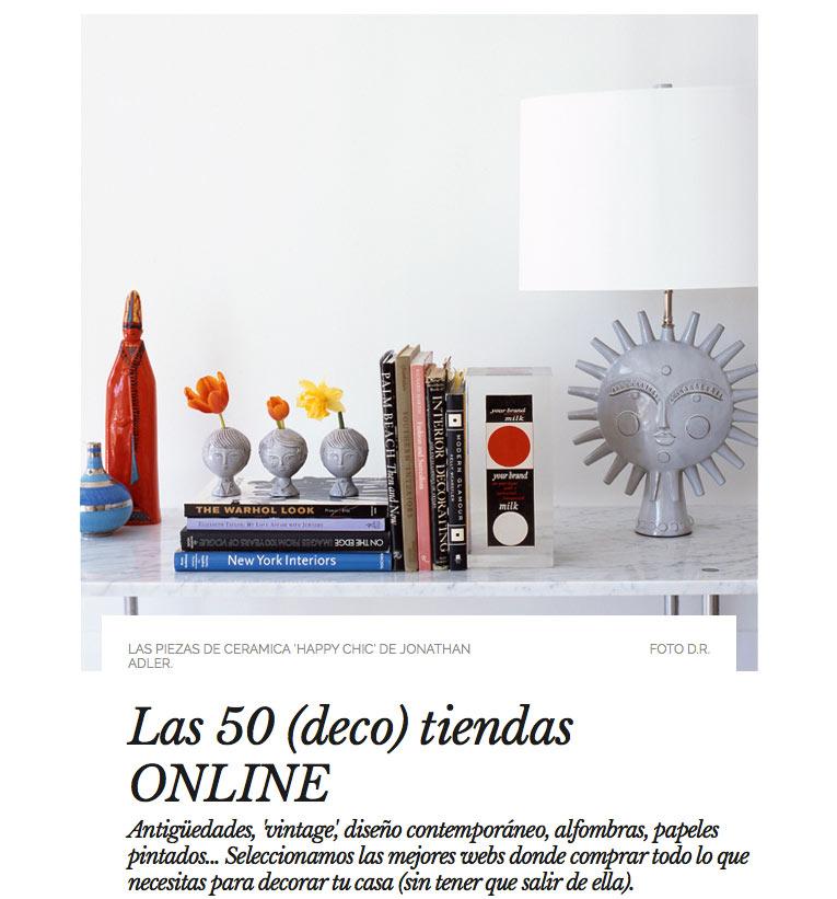 Ad selecciona las 50 mejores tiendas online de decoraci n for Webs decoracion online